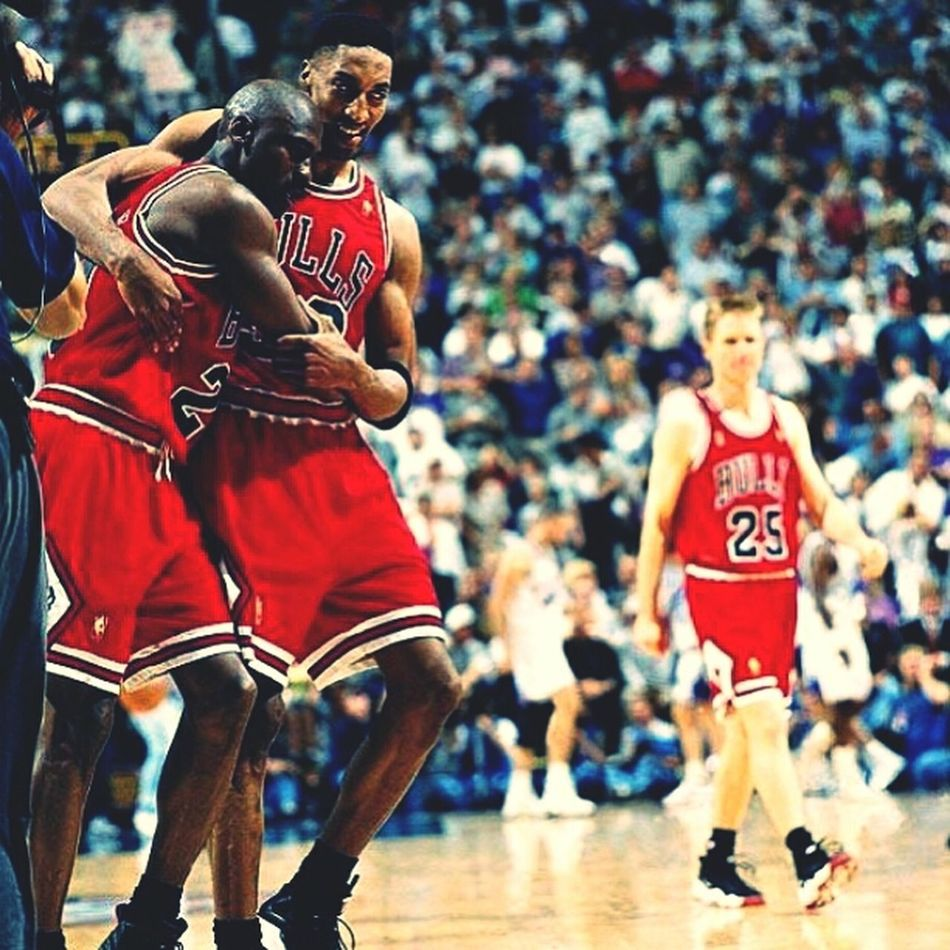 Once upon a time there was Jordan. BULLS NATION