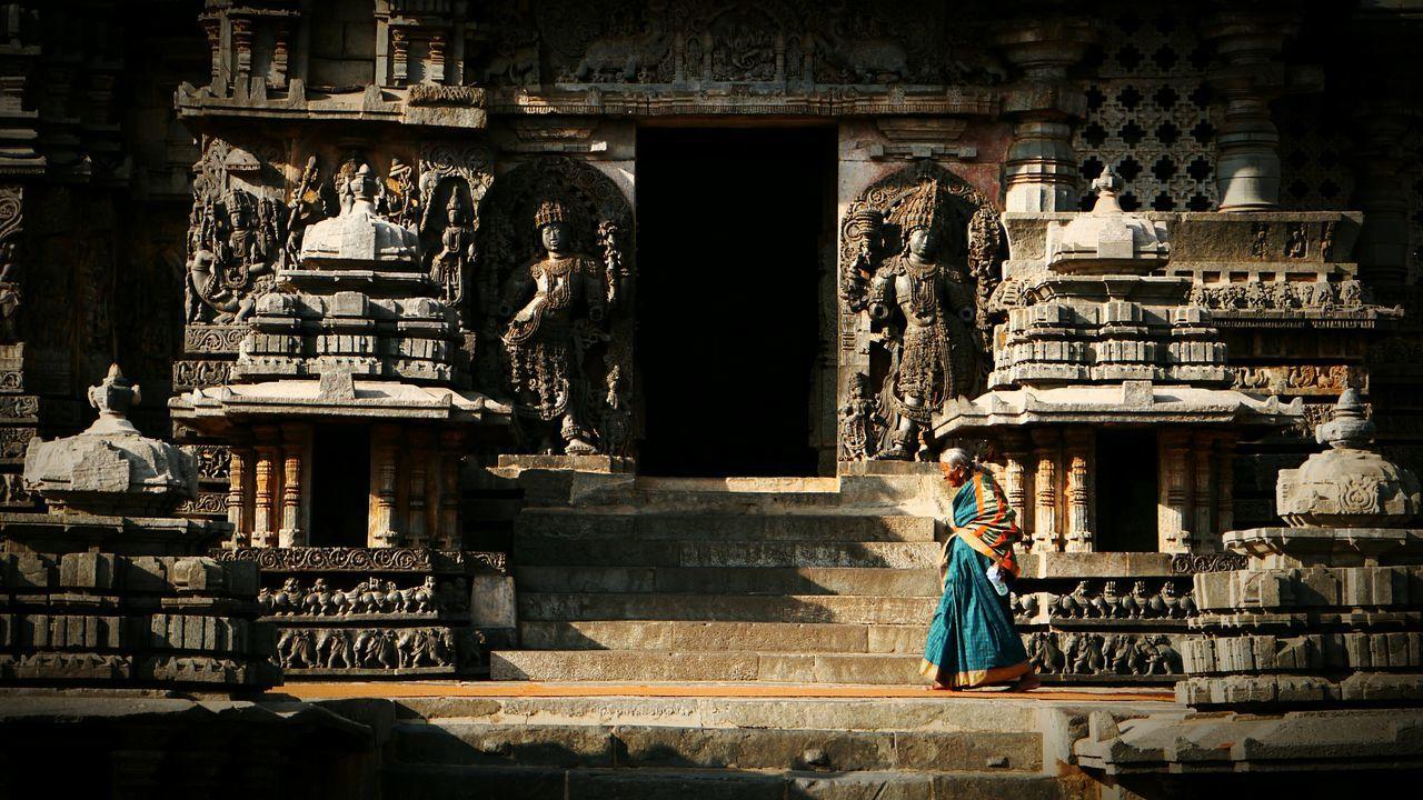 Halebidutemple Religion Travel Destinations Spirituality Statue Sculpture Architecture Hinduism Hindu Temple Karnataka Indiapictures India Indian Culture  Incredible India