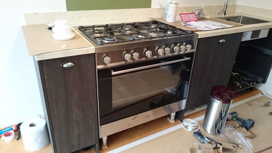 Domestic Kitchen Indoors  Stove Home Interior Kitchen Appliance Close-up No People Renovations From My Point Of View (c) 2016 Shangita Bose All Rights Reserved Alphen Aan Den Rijn Netherlands Kitchen Life