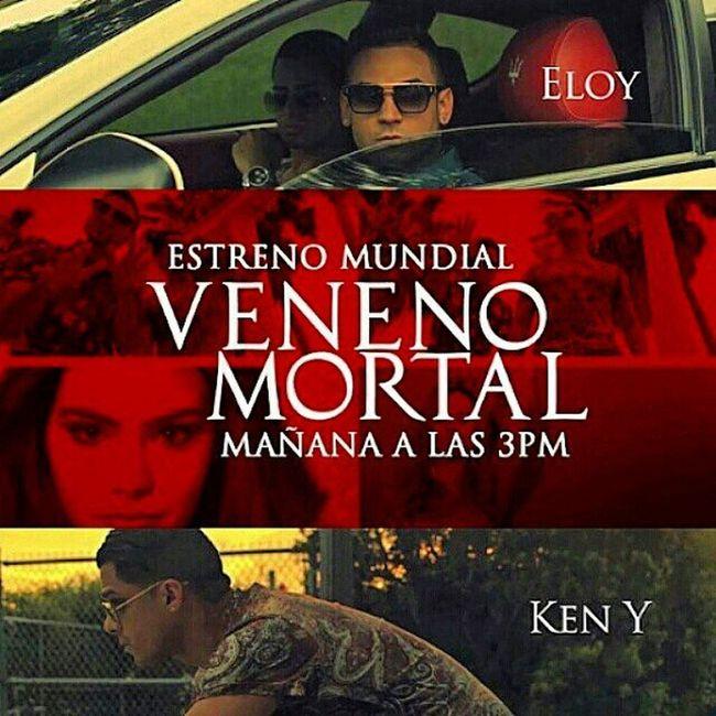 """Reggaeton  via Bogopauta .com Mañana gran estreno de """"Veneno Mortal"""" . El nuevo video de Eloy junto a Ken-Y . @eloy @arcangelprrra News Noticias Latin World Music"""