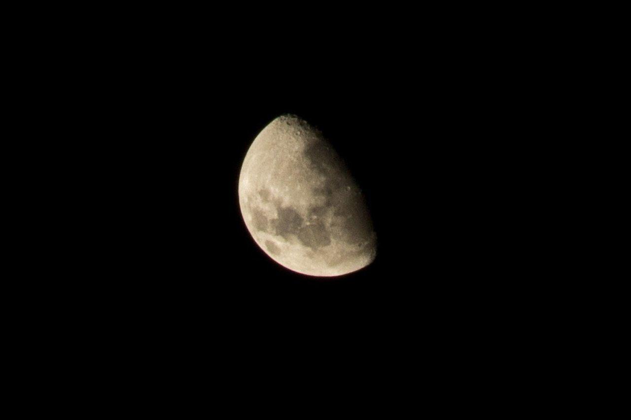 Moon Astronomy Night Luna Şūr