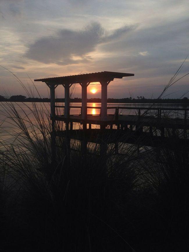 beautiful sunrise Sunrise Lake Morning Walk Sun