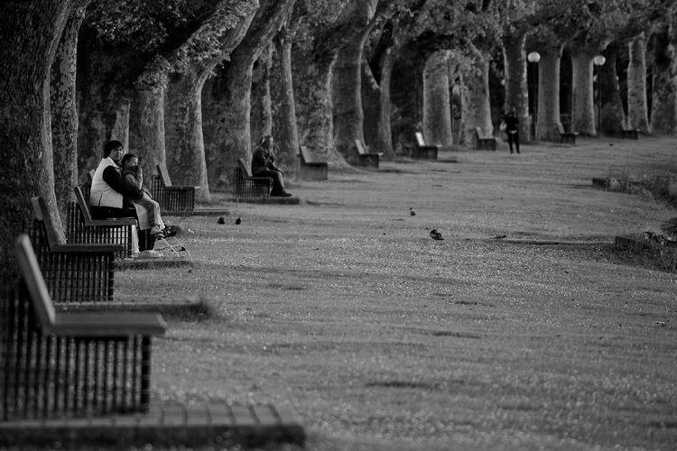 The Street Photographer - 2017 EyeEm Awards Real People Outdoors Lifestyles People Nature Tree Street Streetphotography Life Street Life Young Adult