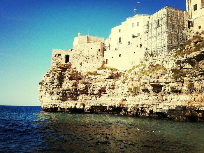 Polignano A Mare Summer Sea Blue
