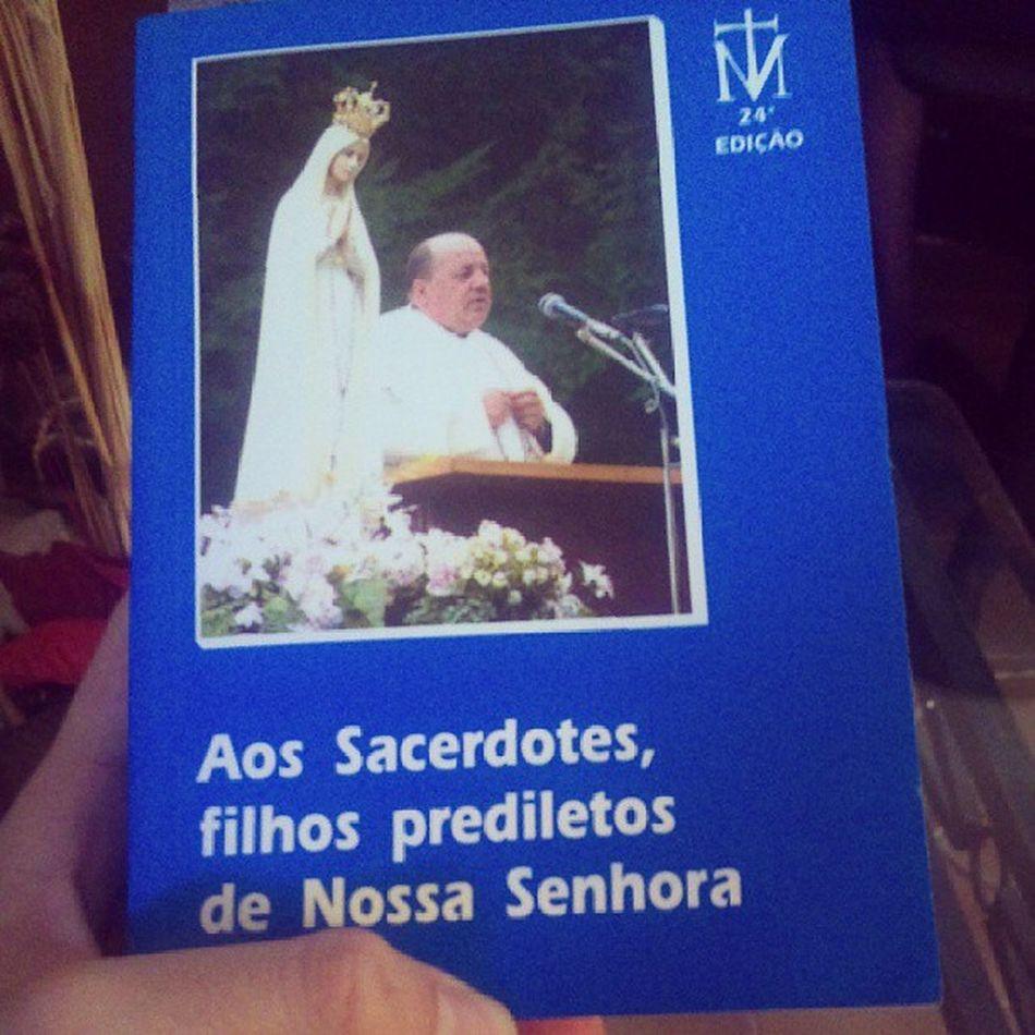 Obrigado vocacionada Bárbara da diocese de Anápolis pelo presente, Deus te abençoe!