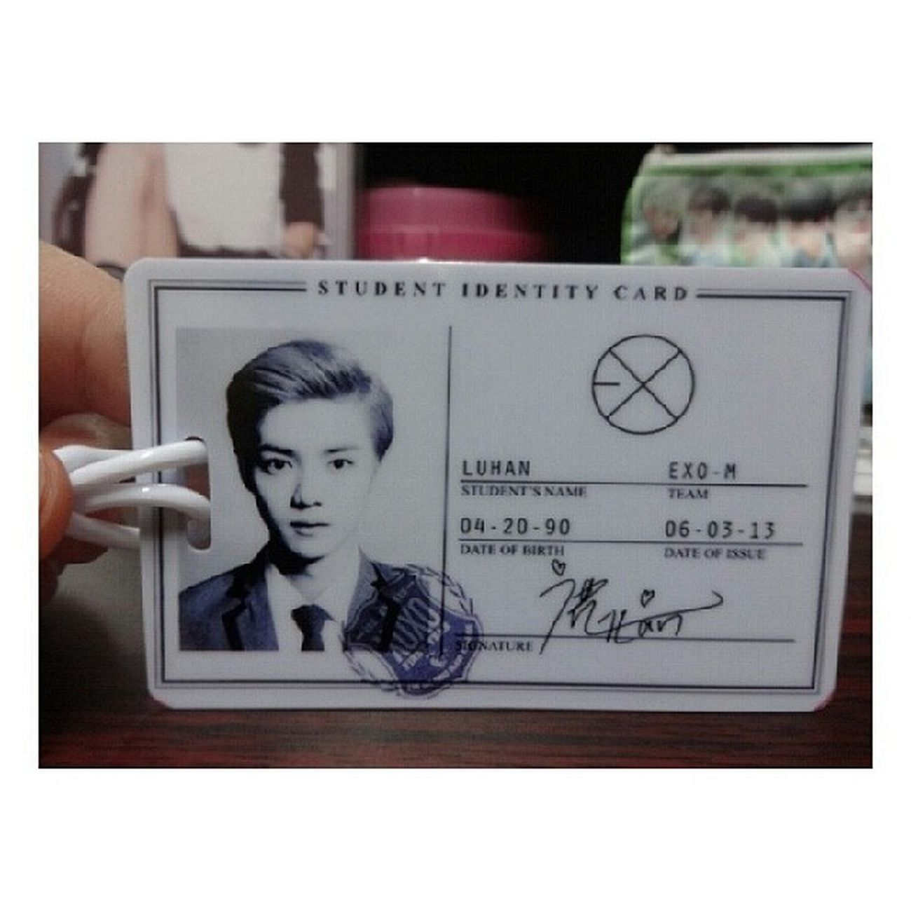 My BagtG Luhan ❤ BagTag Luhan Cute Xoxo Kpopmerch ♡