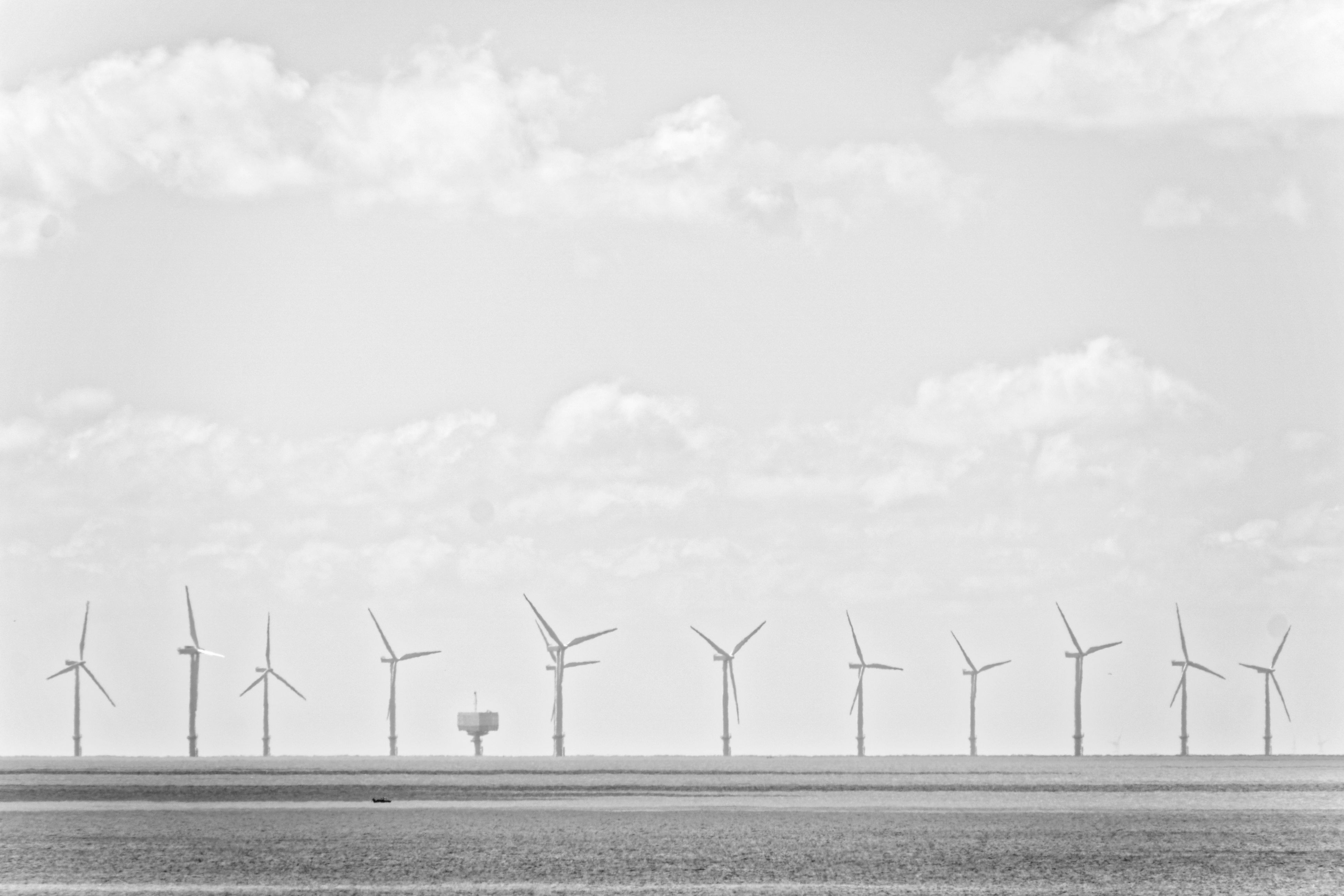 wind turbine, alternative energy, wind power, renewable energy, fuel and power generation, windmill, environmental conservation, industrial windmill, day, outdoors, field, nature, no people, sky, beauty in nature, rural scene, technology