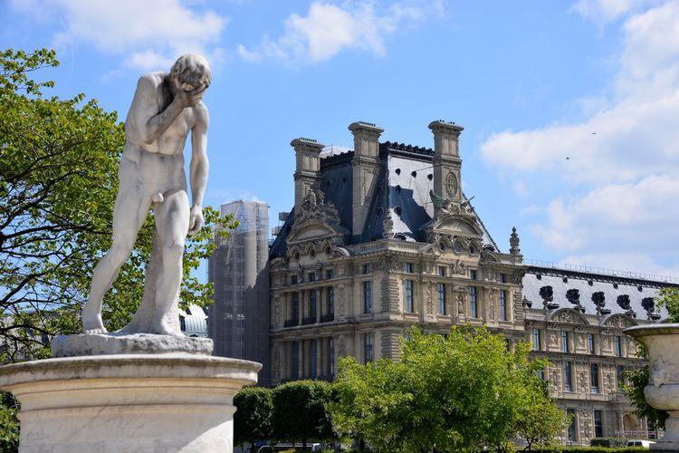 Palace Tuileries Garden Tuileries Tuilleries, Paris Louvre Building Exterior ArtWork Sculpture Classic Landscape Paris Paris, France  Museum Of Art Museum Louvre Museum Garden Statue