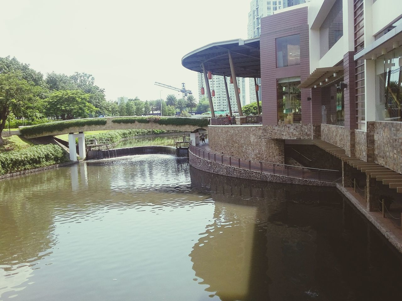 River Riverpark Nature Restaurant Water Relaxing Architecture Riverside River View