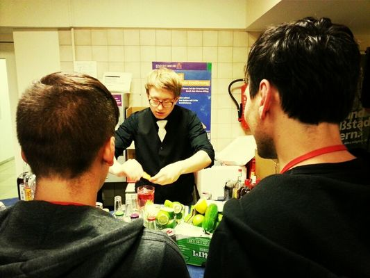 Drinks by Marvin Wecke at #scb13 by jankbx