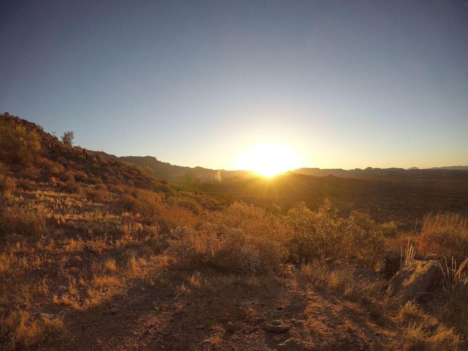 AZ sunrise shot with GoPro 5 Sunlight Nature Landscape Beauty In Nature Outdoors Mountain Arizona Southwest  Gopro GoPrography Gopromoment First Eyeem Photo