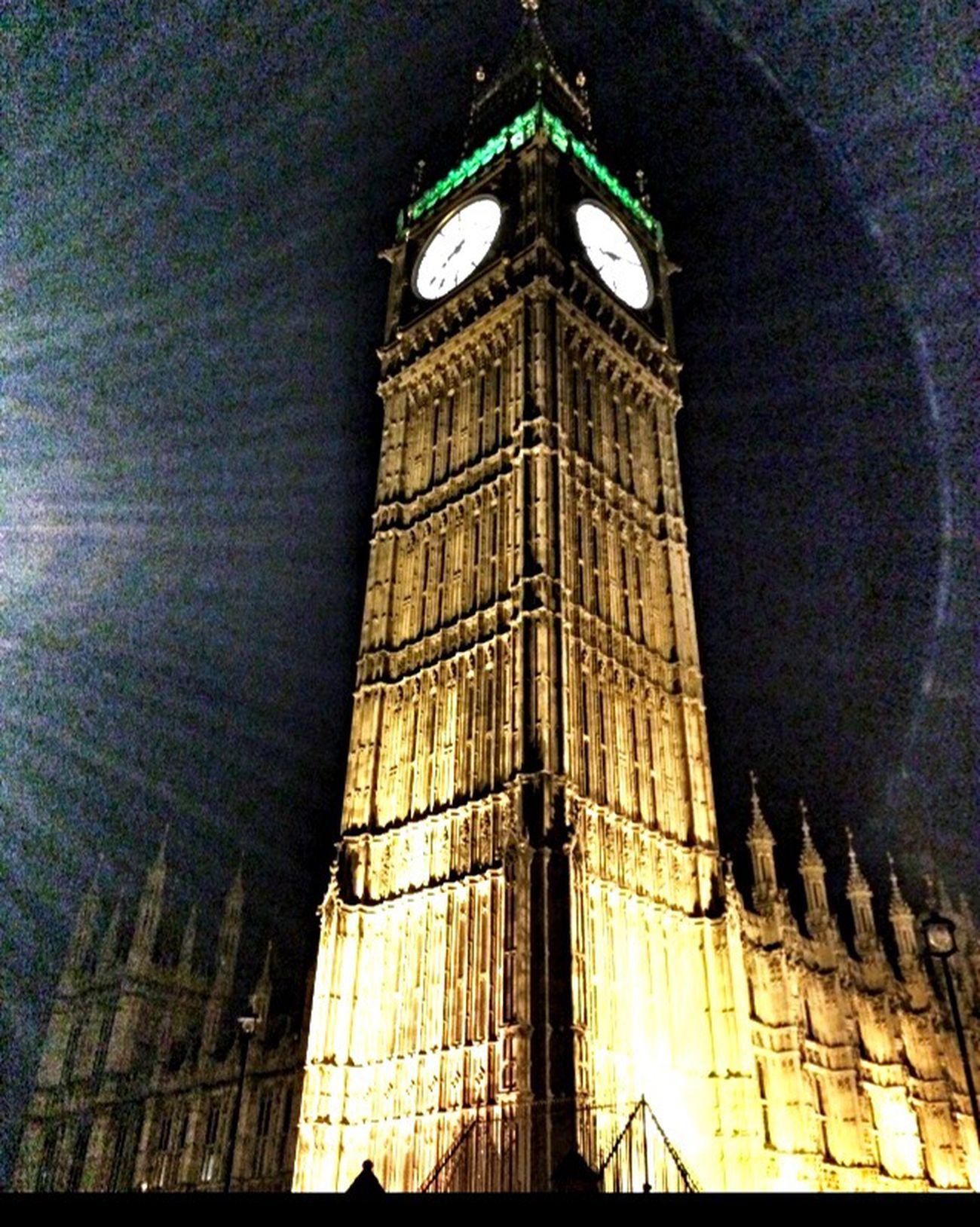 Architecture Illuminated Clock Tower Night IPhoneography IPhone Photography Iphonephotography Iphone Eyeem Architecture Historical Building Archiporn Tower Big Ben