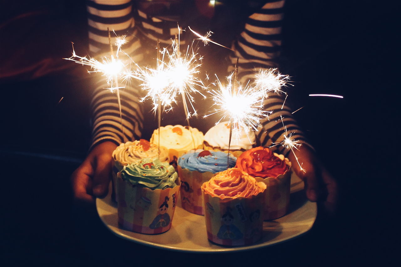 Beautiful stock photos of geburtstagskuchen, Burning, Celebration, Close-Up, Cup Cake