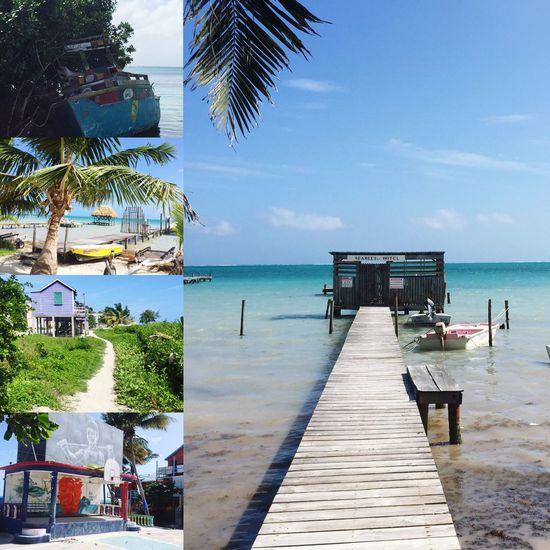 Cayecaulker Paradise Belize  Beach