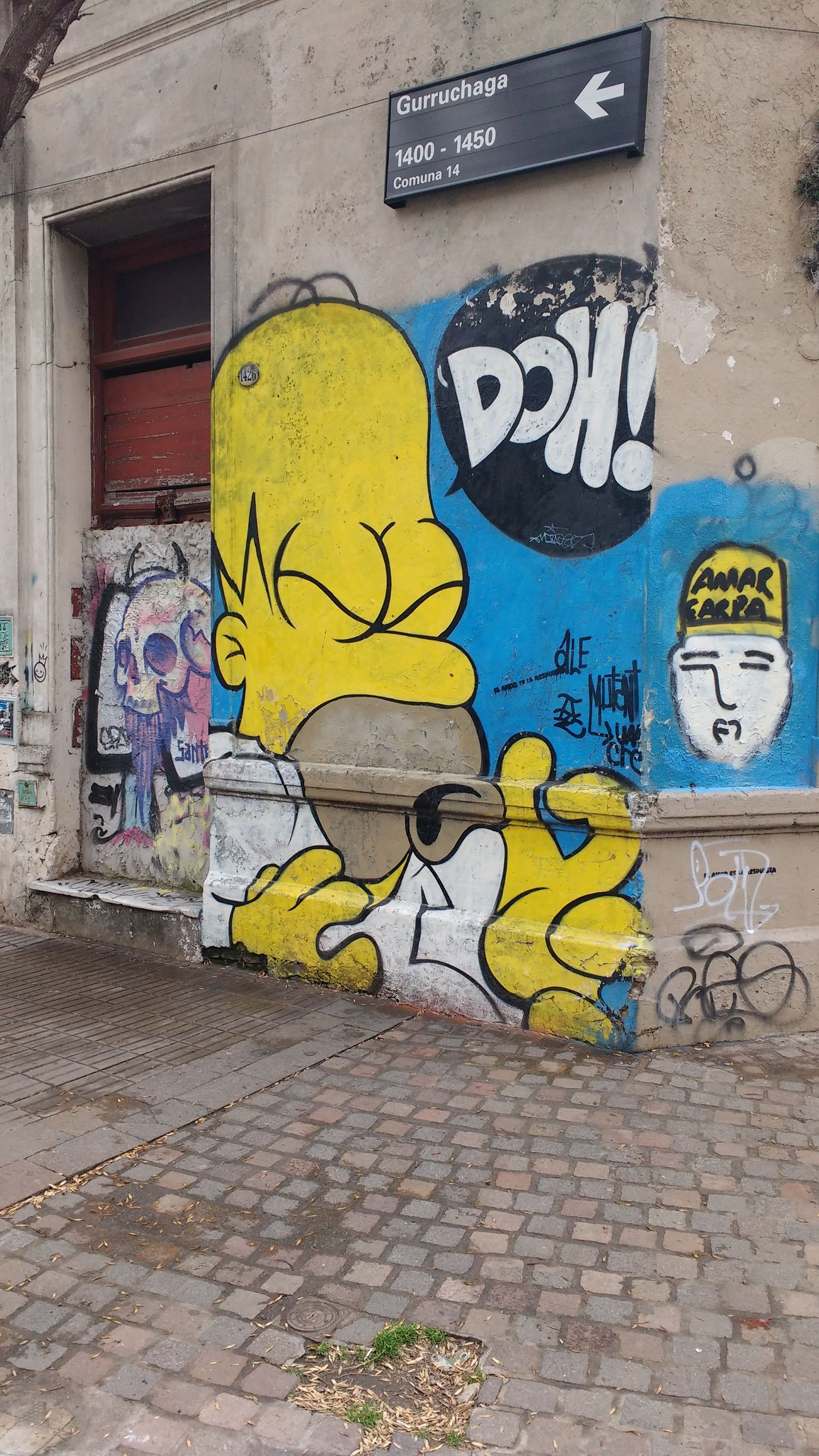 The Simpsons Street Street Photography Streetphotography Street Art Popular Photos Eyeem Colors Art In The Streets Check This Out Light And Shadow Buenos Aires Argentina Photography EyeEm Gallery Graffiti