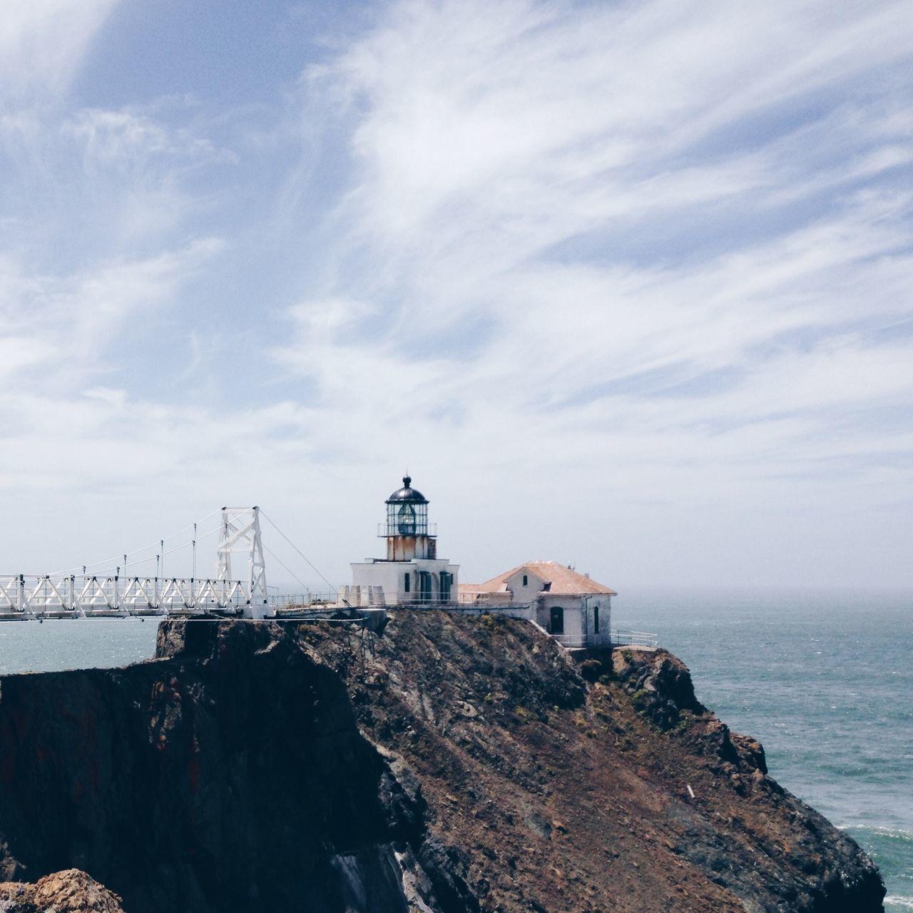 Beautiful stock photos of lighthouse, Architecture, Building Exterior, Built Structure, Cloud