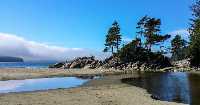Vancouver Island Canada Tofino British Columbia Tofino Beach Sky Outdoors