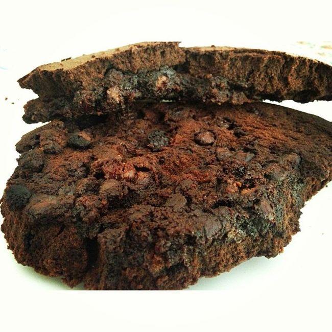 not just a brownie. MiniKisses Brownies Chocolatey Upsidedown chunkychoco chocochip food