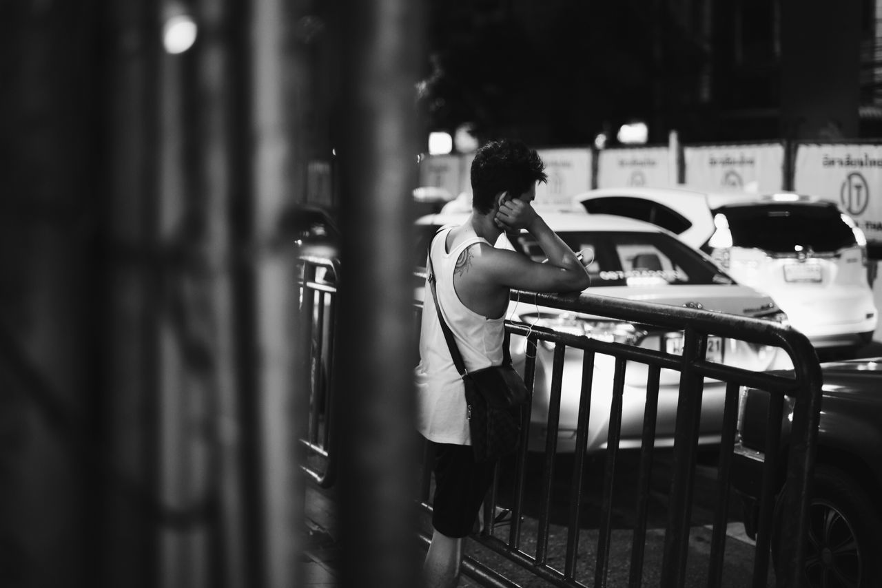 The Changing City City Life Blackandwhite Traffic City Life Nightphotography Night Streetphotography What is next???