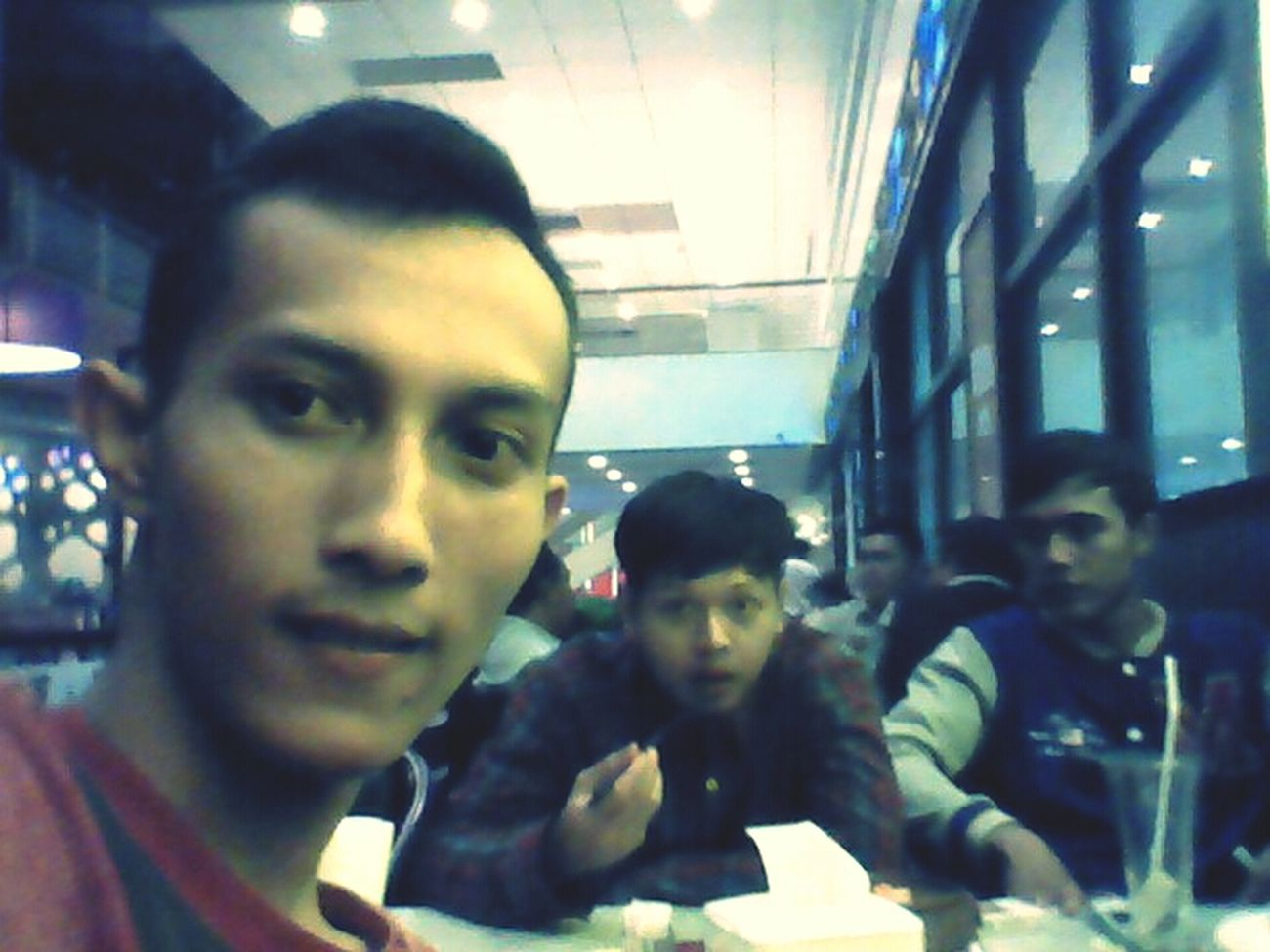 diner, this afternoon, tang city mall, tea garden restaurant.