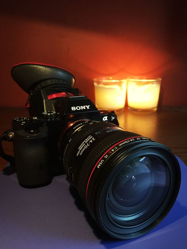 Zacuto Z-finder Sony A7s Canon 24-70 In My Room