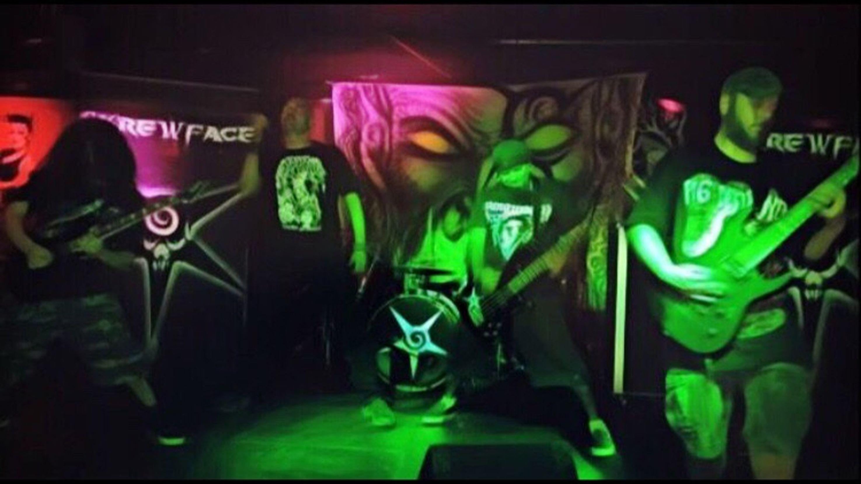Music Metal Skrewface Concert Performance