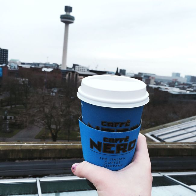 Coffee Coffee Time Liverpool Library Grunge View City Nero Cafe Cafe Nero Here Belongs To Me