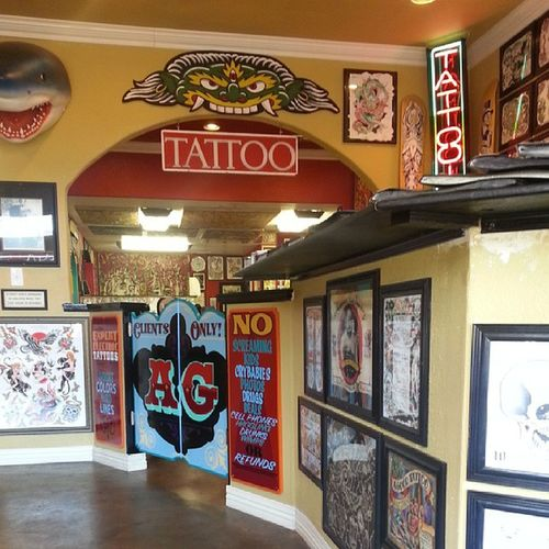 New tattoo time! @americangraffiti Tattoo Ink Inklove Addiction expensive inklife tatted peice time cash love instalike like follow