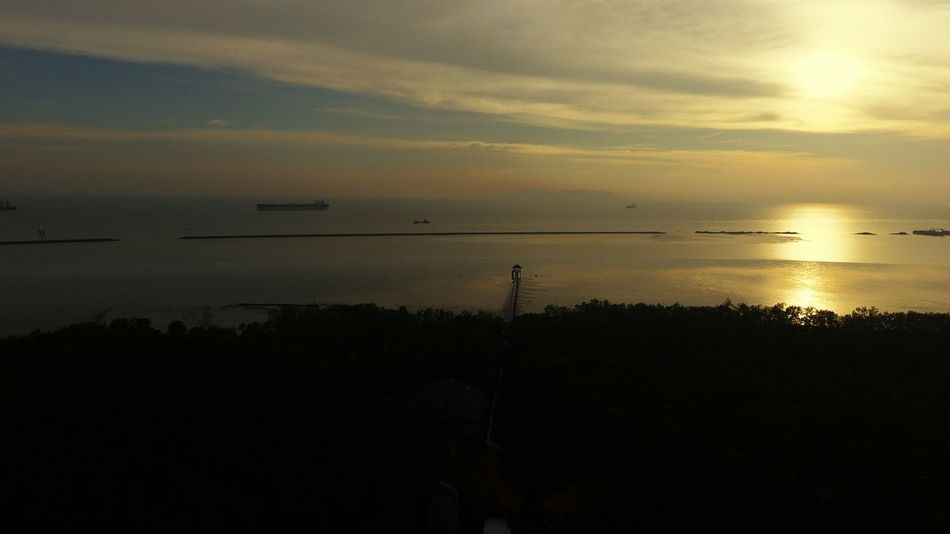 The end of Peninsular Malaysia... its Tanjung Piai in State of Johore