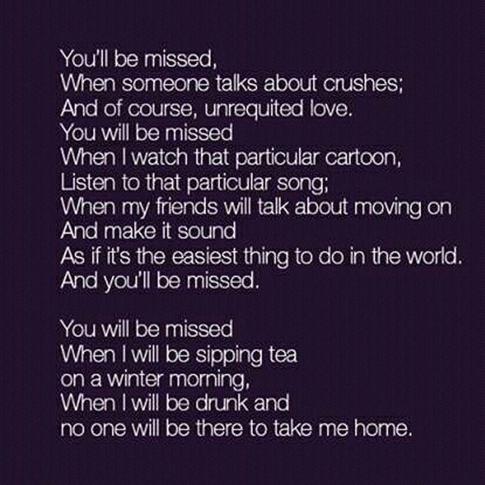 Missing Her Love ♥ Truewords