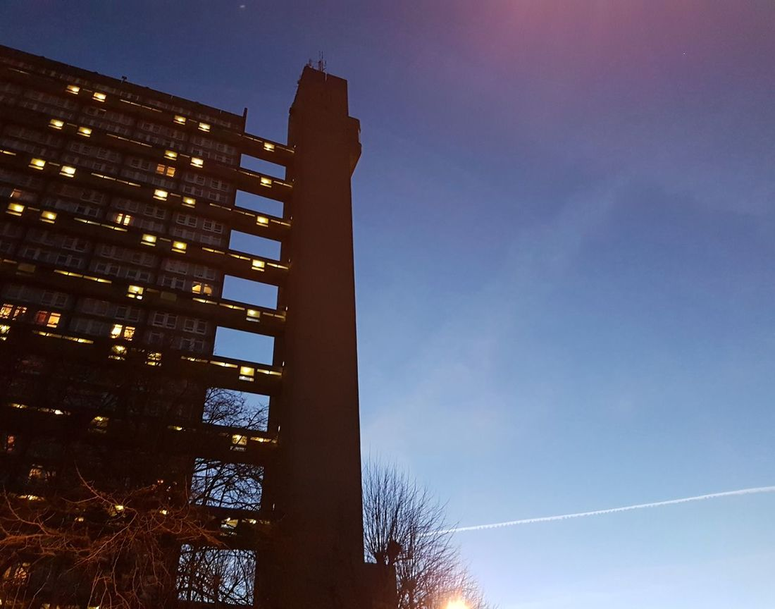 goldfinger eyeem trellick tower business finance and industry low angle view architecture sky no people blue built structure