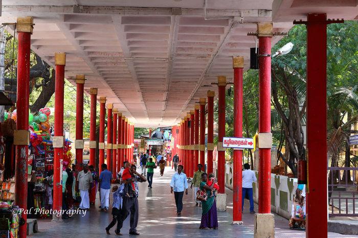 Tiruchendur Temple Corridor Architecture Chennai,India Paulvadivu Subramaniaswamy Temple Tamil Nadu Temple Corridor The Way Forward Tiruchendur