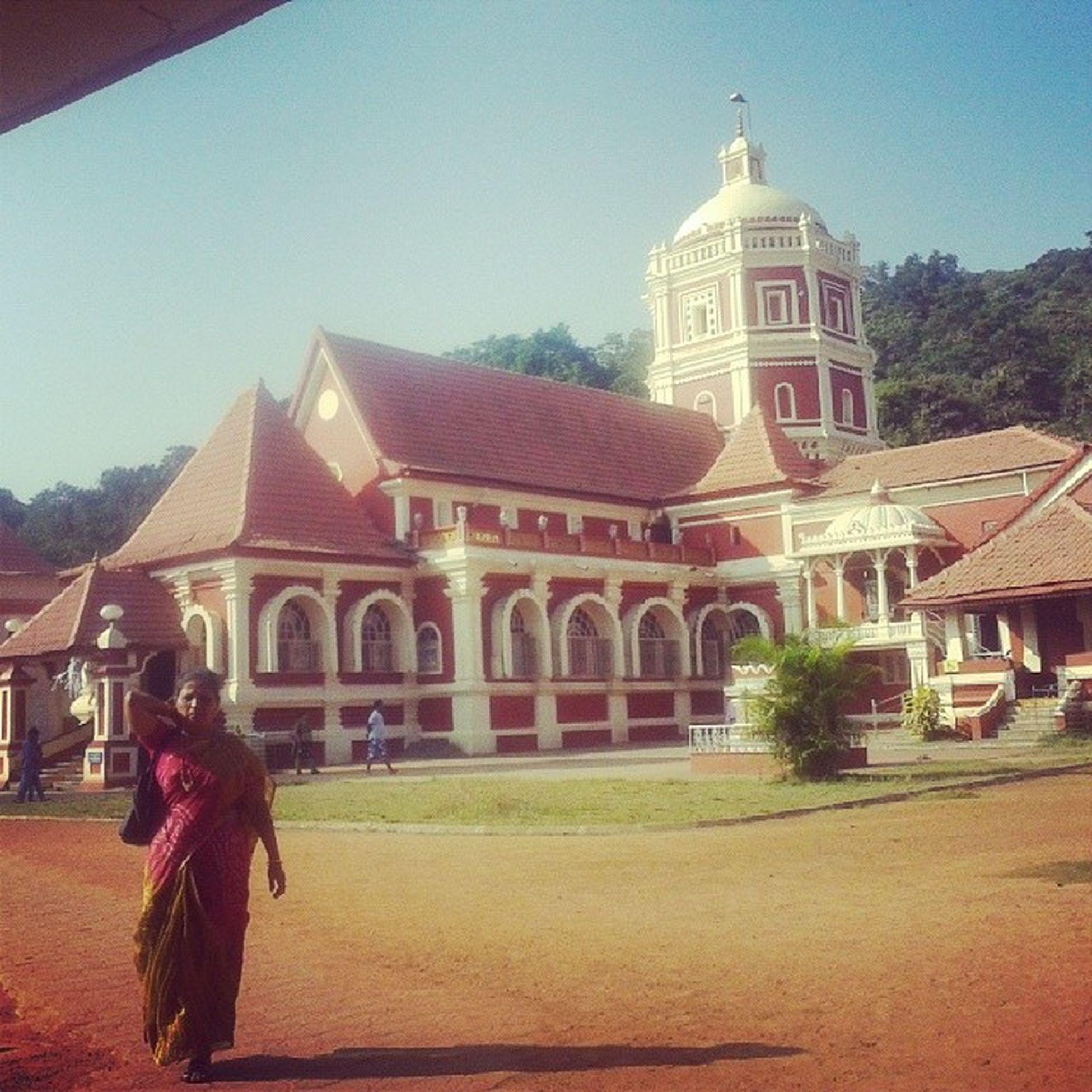 Shantadurgatemple Kavlem Goa Mentalpeace bestplacetobe _/\_