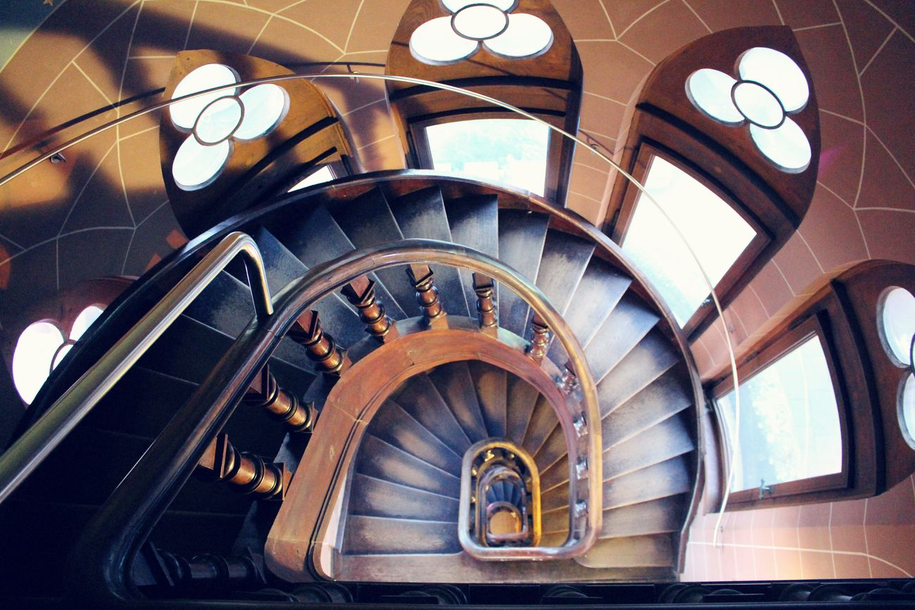 """""""Faith is taking the first step even when you don't see the whole staircase."""" [Martin Luther King Jr] Stairs Staircase Stairs_collection Stair Staircases Wooden House Architecture Built Structure Wooden Floor Wood Art House Interiors  No People Schloss Drachenburg Drachenfels"""