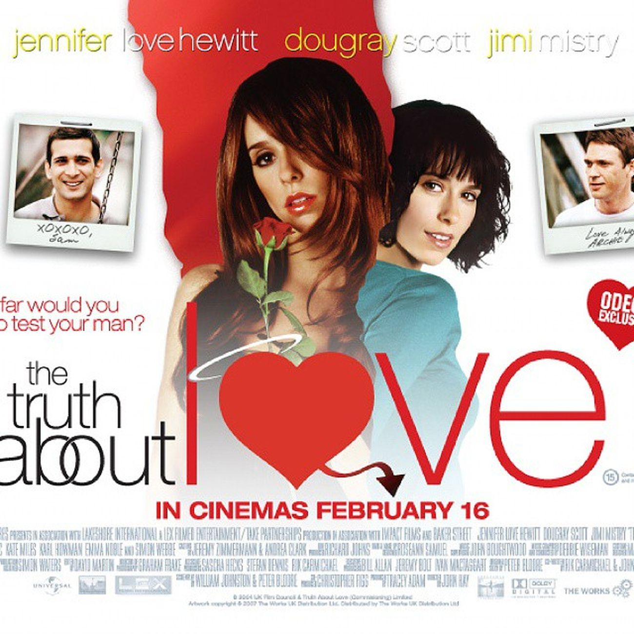 My Top 15 Happy-Ending Romantic Movie TheTruthAboutLove Jenniferlovehewitt DougrayScott British Cheating Husband Mistress Disguise Bestfriend Cute Sweet Letter Card Valentines Romantic ChickFlick Moviee
