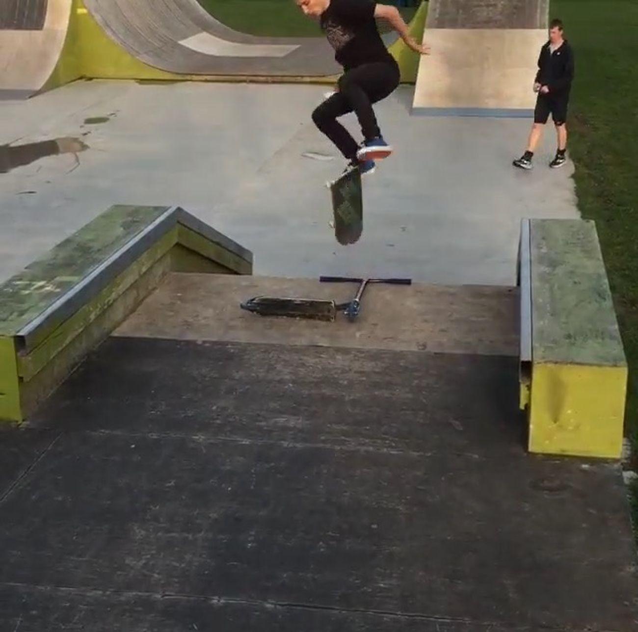 Skate Skateboard Skateboarding Skateuk Kickflip