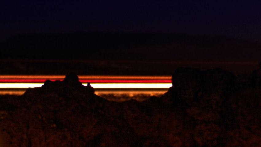Night Illuminated No People Outdoors Light Trails Light EyeEmNewHere Other Worldly Martian  Nature Landscape Night Photography