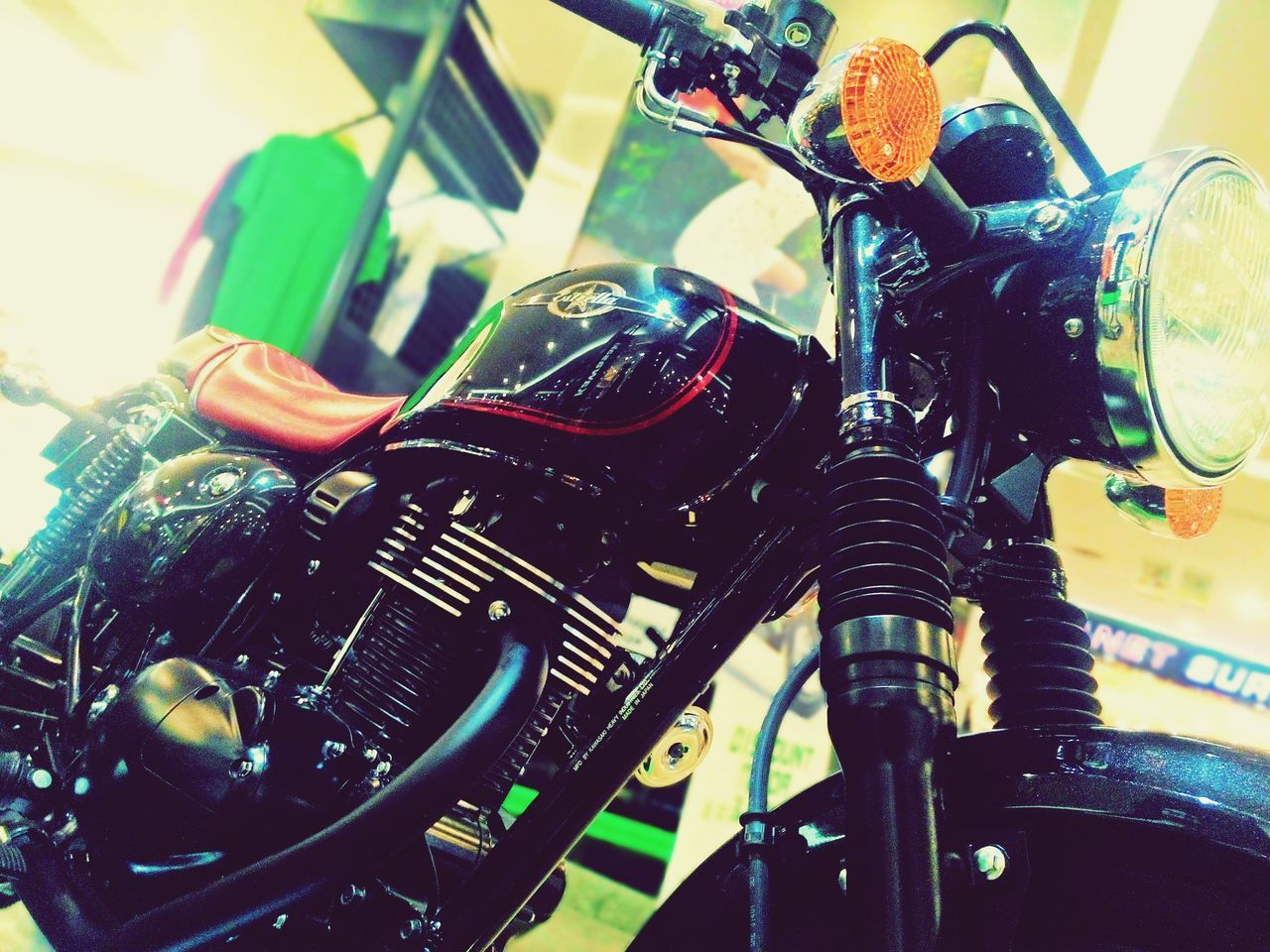 One of my fav pic.. Check This Out Taking Photos Motorcycle Engine Kawasaki Hello World Awesome Exploring EyeEm EyeEm Gallery Eyeemphotography Motorcycle Photography Motorbikes Manado Town Square Mantos Auto Contest 2015 Throwback ✌ Mall