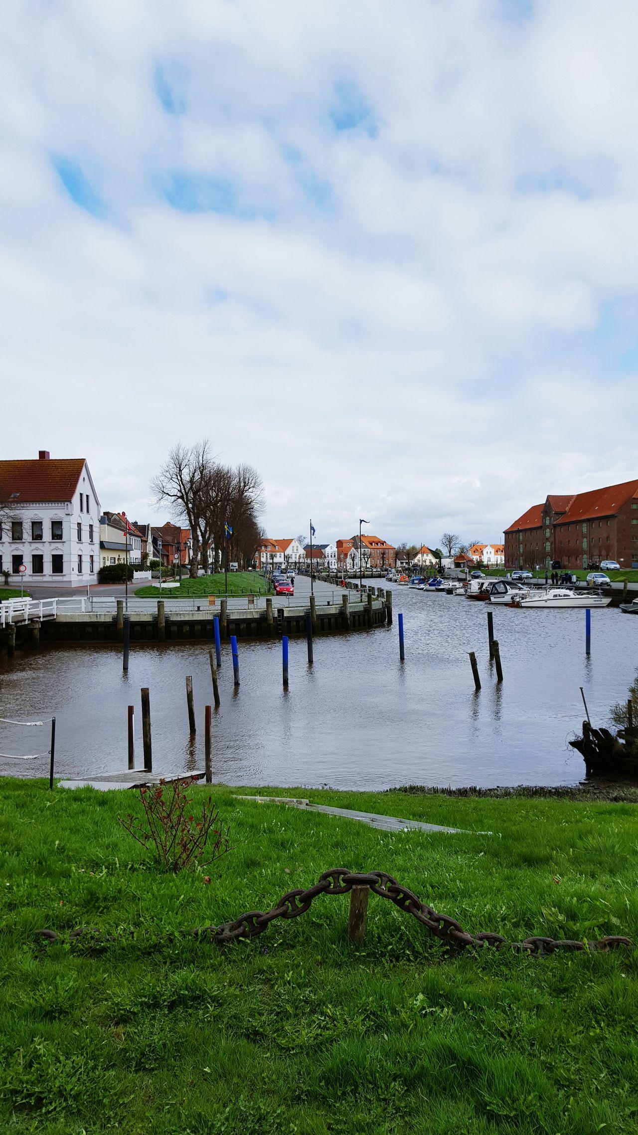 Nordseeküste Nordsee Eiderstedt Hafen Tönning