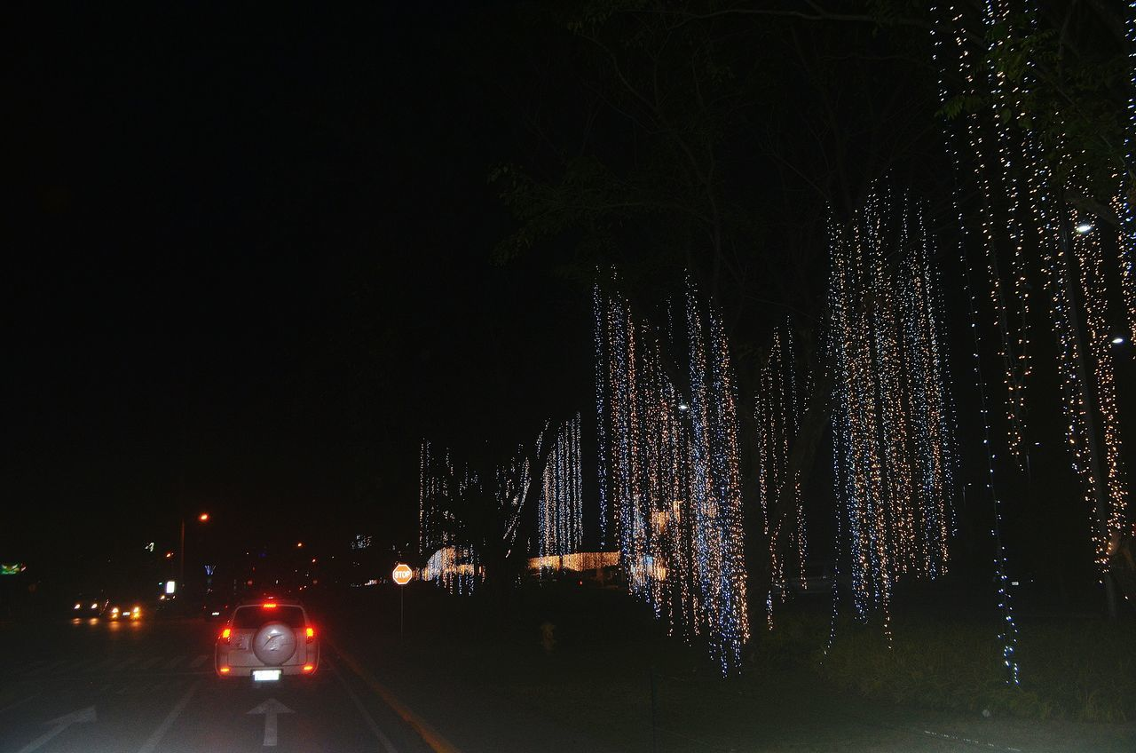 Traveling Home For The Holidays On The Way Home On The Road Christmas Lights Christmas Day