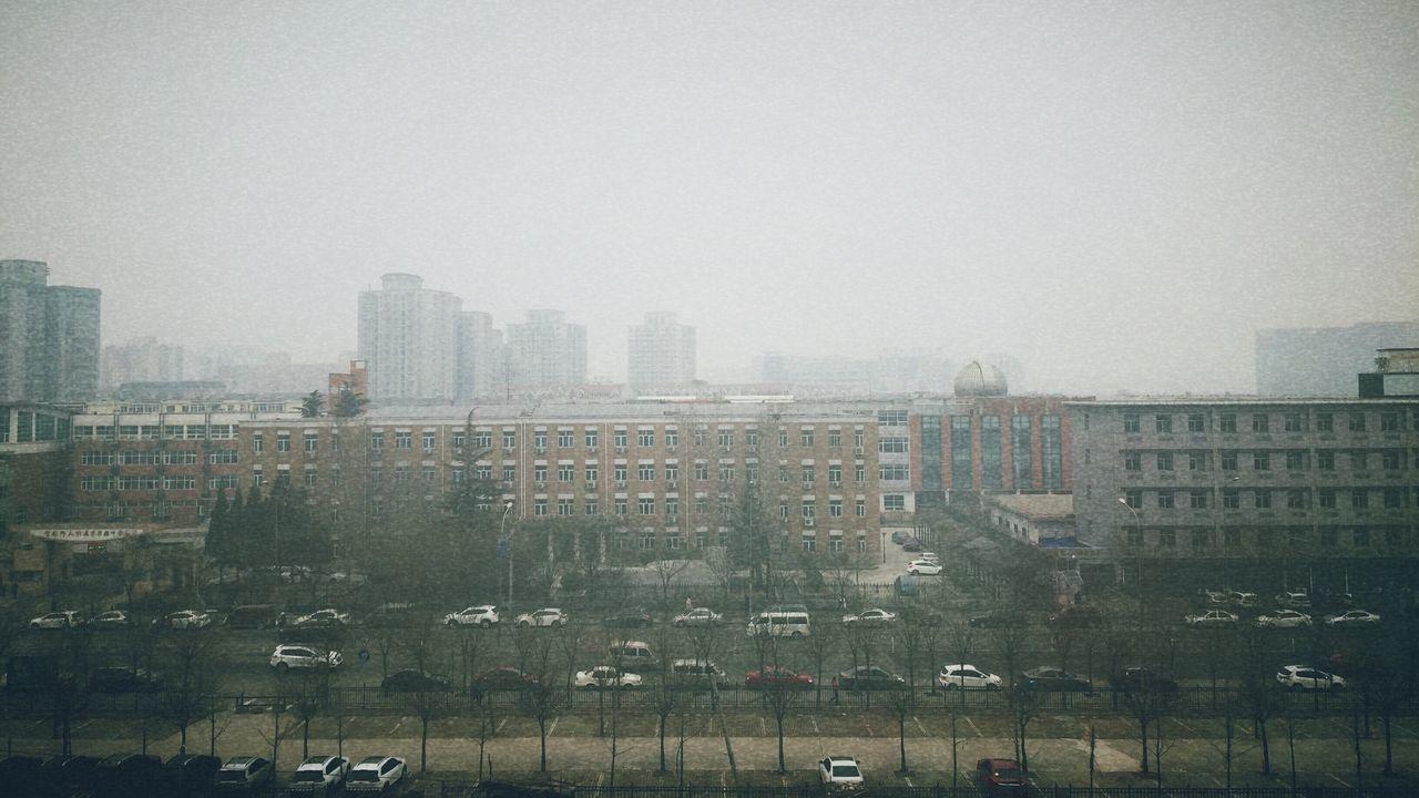 雾霾北京 Beijing