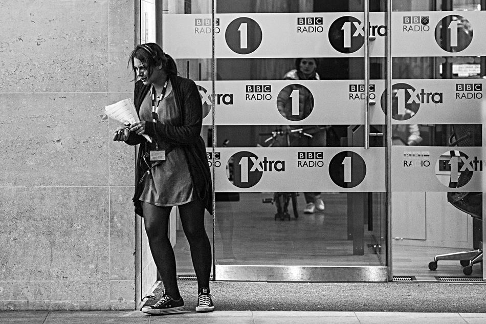 BBC Black And White Street Photography Broadcastinghouse #bbc #theoneshow #radio #television