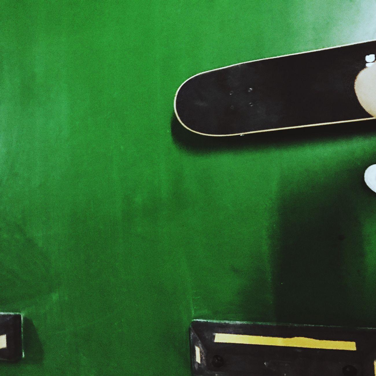 Taking Photos Green Color Indoors  No People Hello World Enjoying Life Having Fun Happy Skater Girl Skateboarding Skatelife 🏃🏽♀️underground parking garage