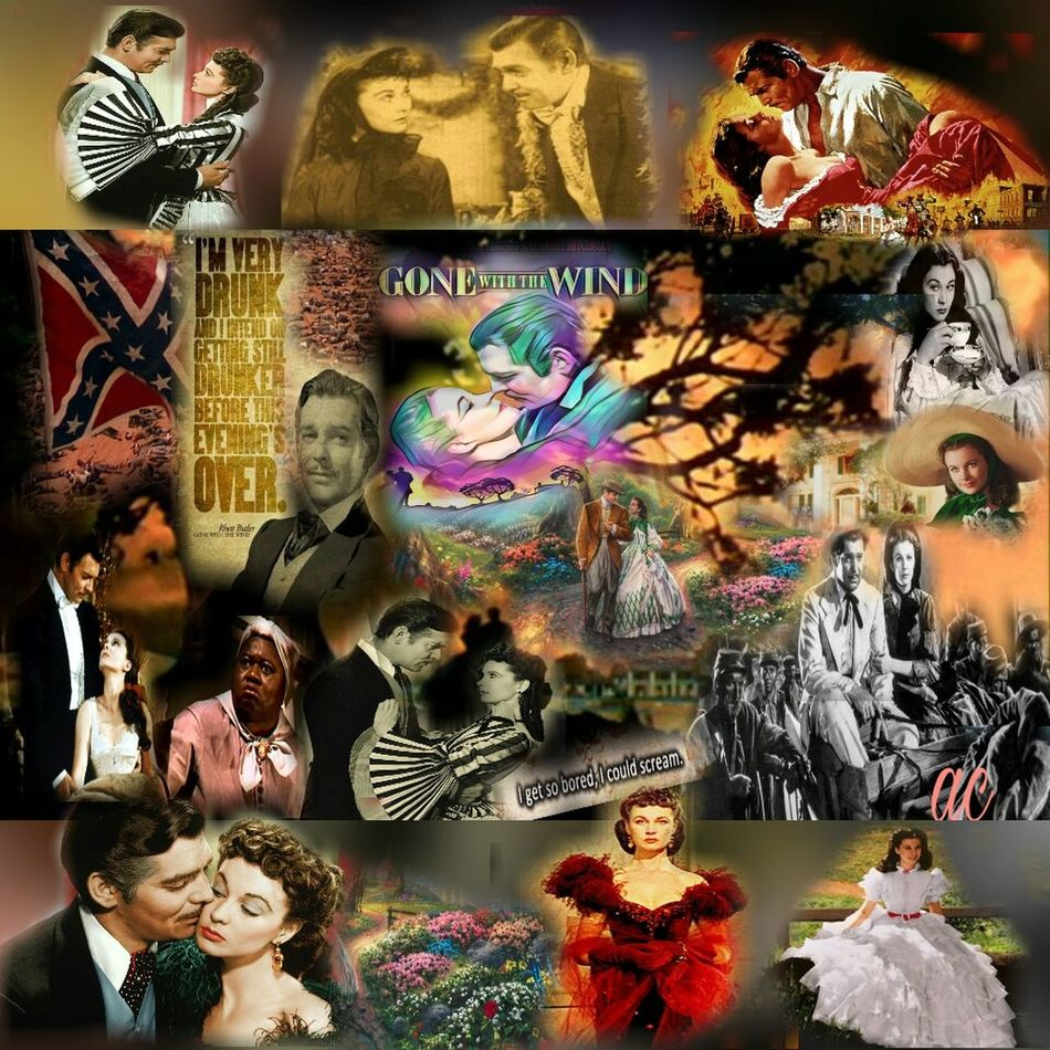 GONE WITH THE WIND Collageart Color Explosion Vibrant Color Colorsplash Collageartwork Collageoftheday Multi Colored