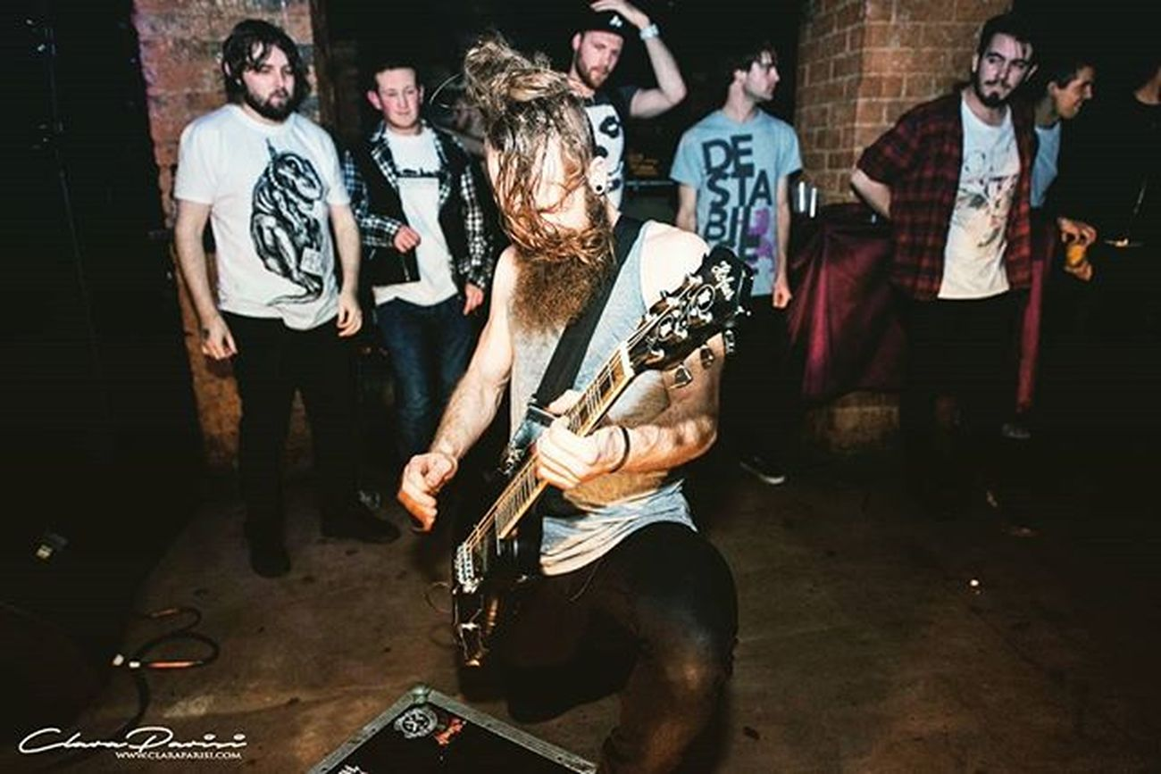 @jonny_from_that_heck_band // @abandcalledheck - Abandcalledheck Heck Therainbow Birmingham Guitar Hardcore Show Claraparisiphotography Musicphotography