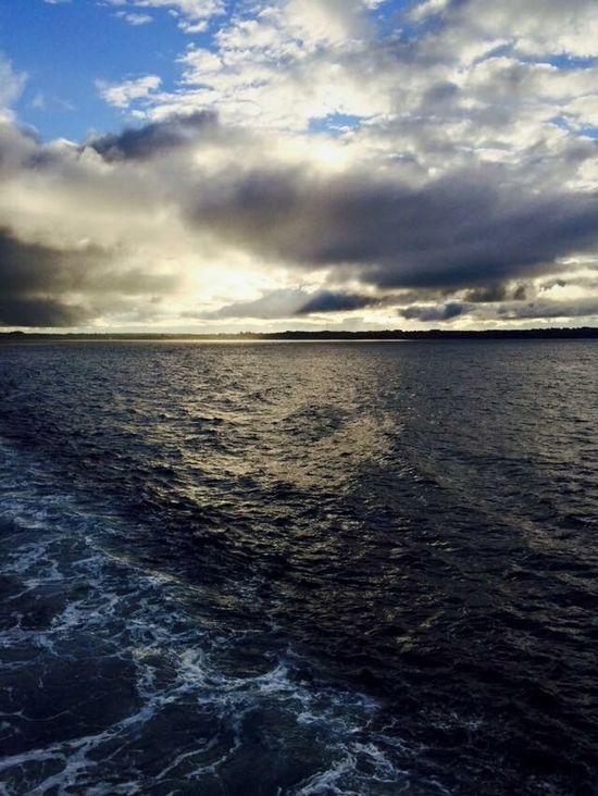 Gran experiencia cruzar el canal de chacao Niceplace Chacao  Sea Oceano Ocean Chiloé, Chile Ancud-chiloe Beautiful #EyeEm
