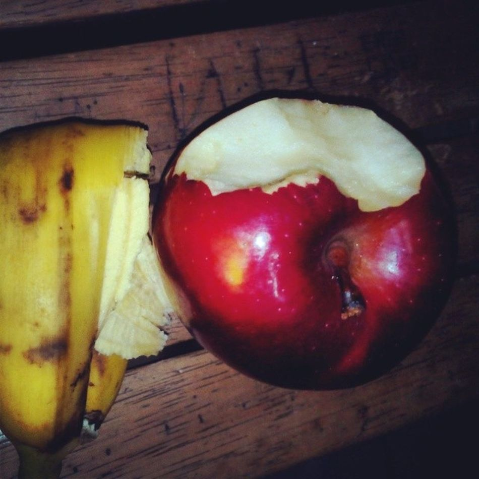 Dinner Apple Banana Lakatan Sweettooth fruits fresh delicious healthy vitamins instafood instapics