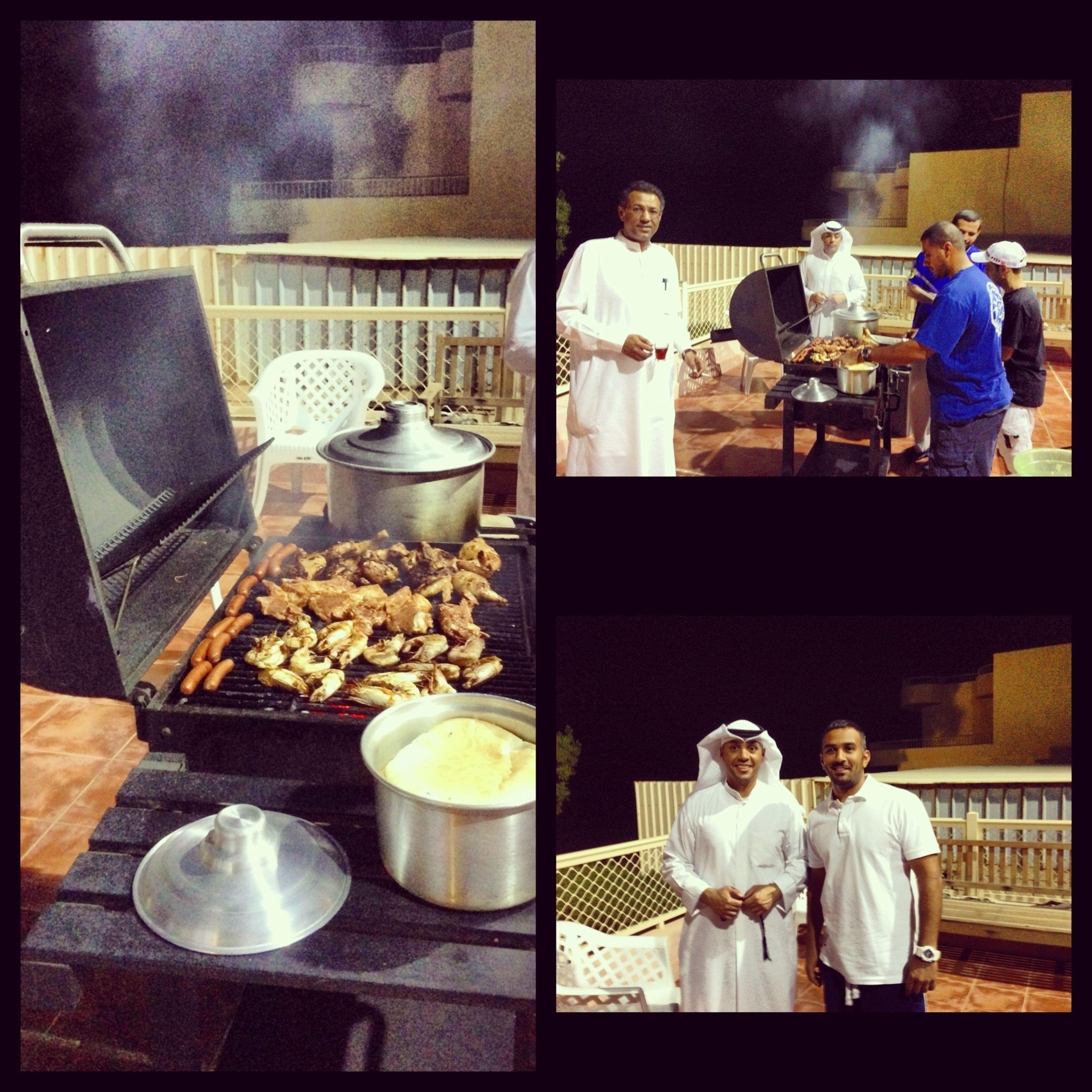 BBQ Time Kuwait Enjoying Life Family
