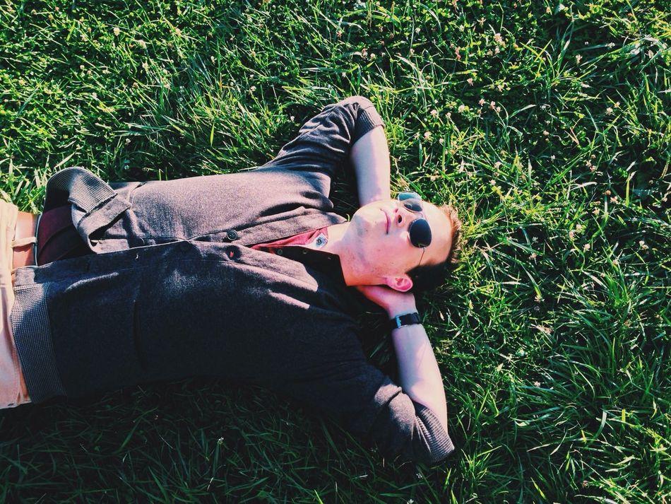 Beautiful stock photos of sleep, Carefree, Day, Grass, Lawn