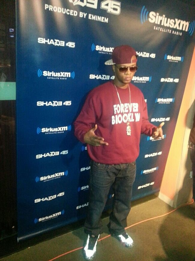 My right-hand Man @Papoose #BrooklynForever #Shade45